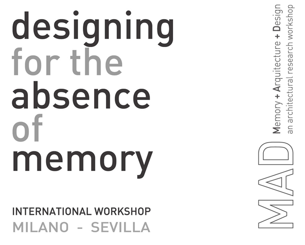 MEMORY + ARCHITECTURE + DESIGN: MAD an architectural